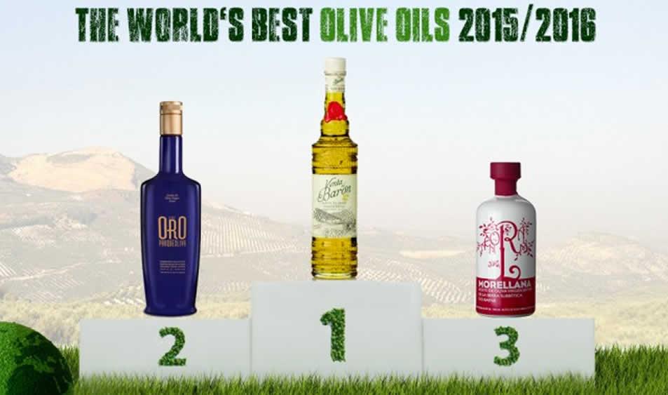 Los 50 Mejores Aceites de Oliva Virgen Extra del Mundo 2015/2016 según World's Best Olive Oils