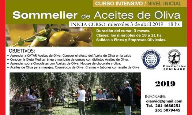 CURSO SOMMELIER DE ACEITES DE OLIVA