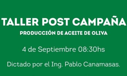 Taller AOVE – Defectos en la elaboracion – Ing. Pablo Canamasas – SOLO PARA SOCIOS – VACANTES LIMITADAS
