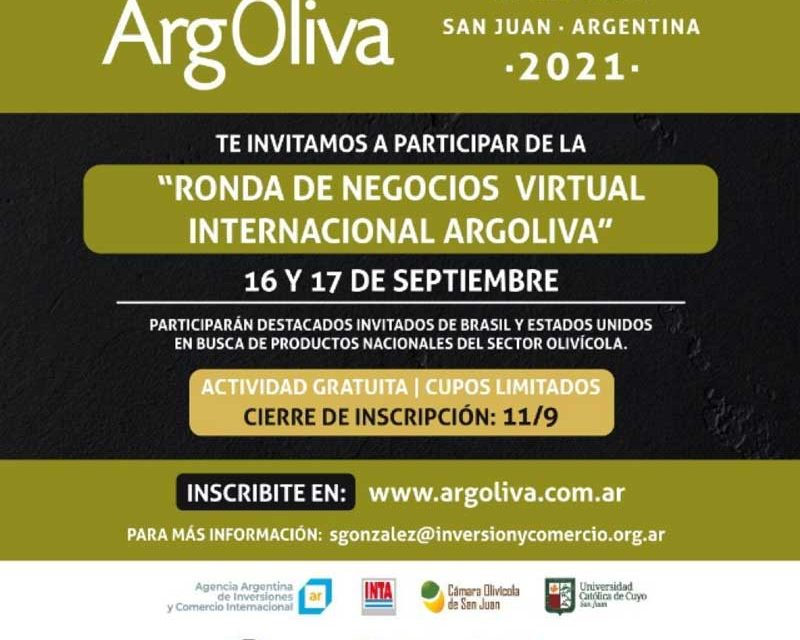 Ronda de Negocios Virtual Internacional Argoliva